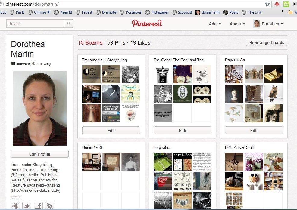 Schöne bunte Bilderwelt: Pinterest
