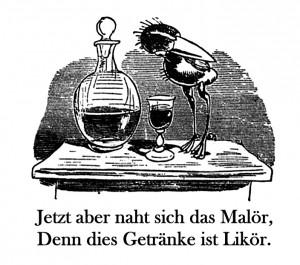 Hans Huckebein von Wilhelm Busch - PD wikipedia