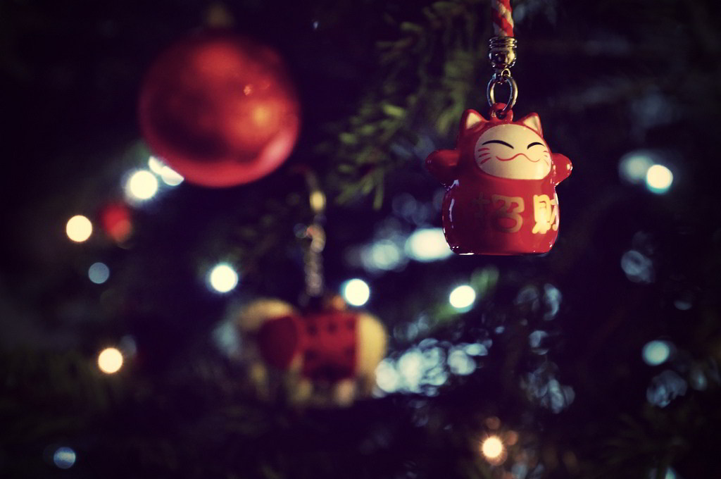 Merry Christmas by kristofklee on flickr CC BY NC SA 2.0