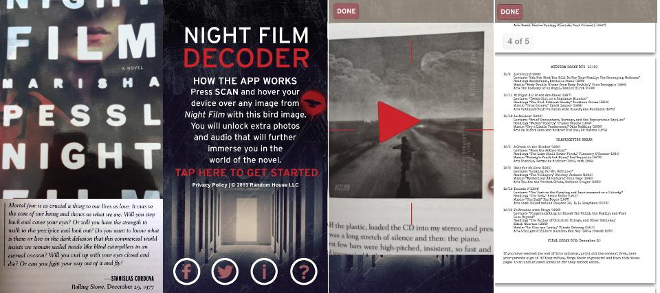 Night Film App von Marisha Pessl im Überblick