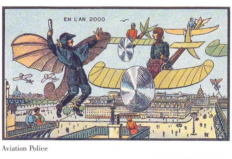 Flying_police - En l'an 2000