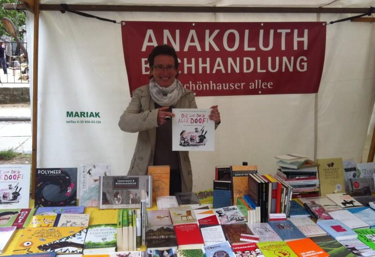 Anakoluth am Kollwitzplatz