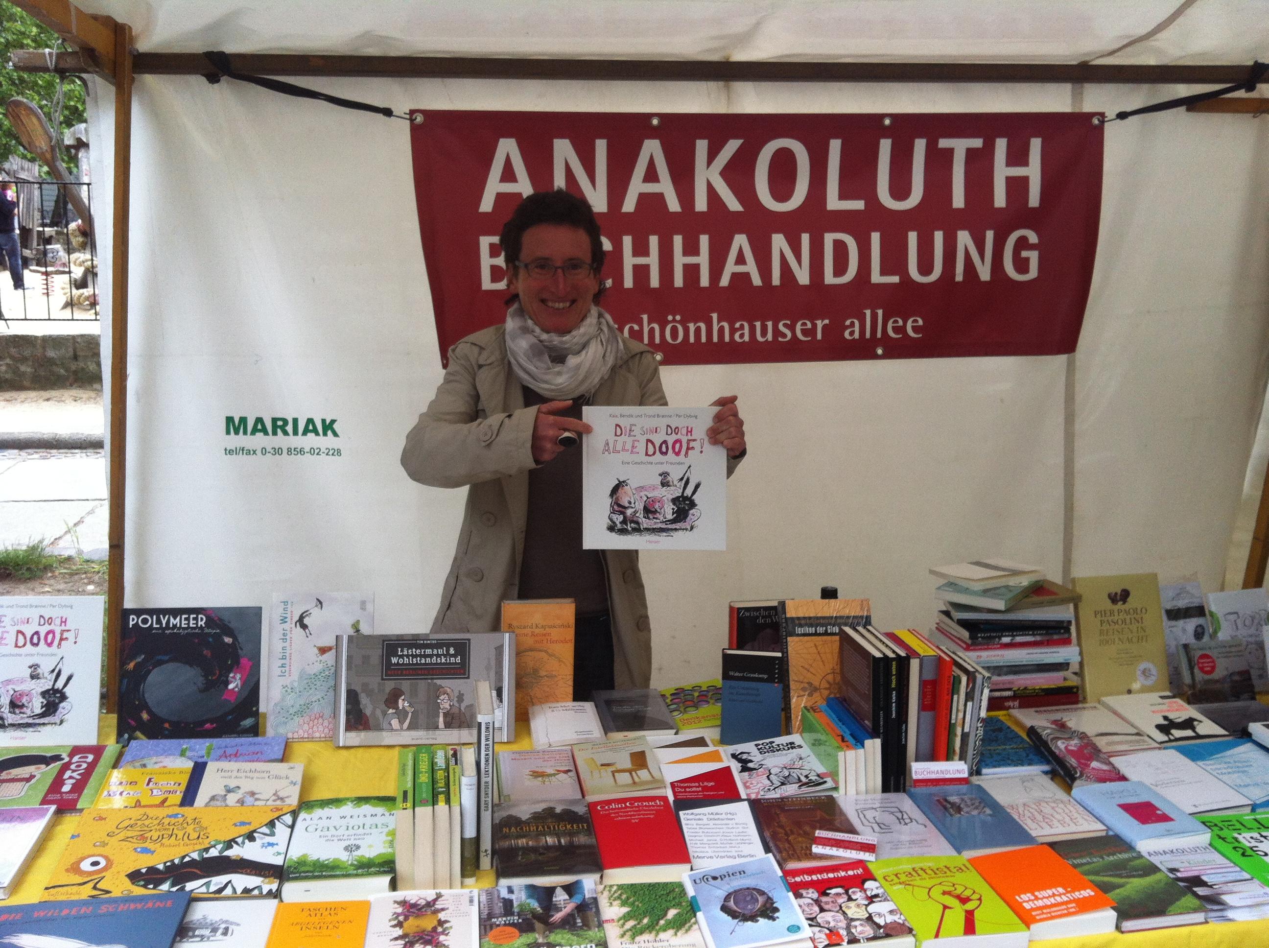 bookup bei Buchhandlung anakoluth #bookupDE