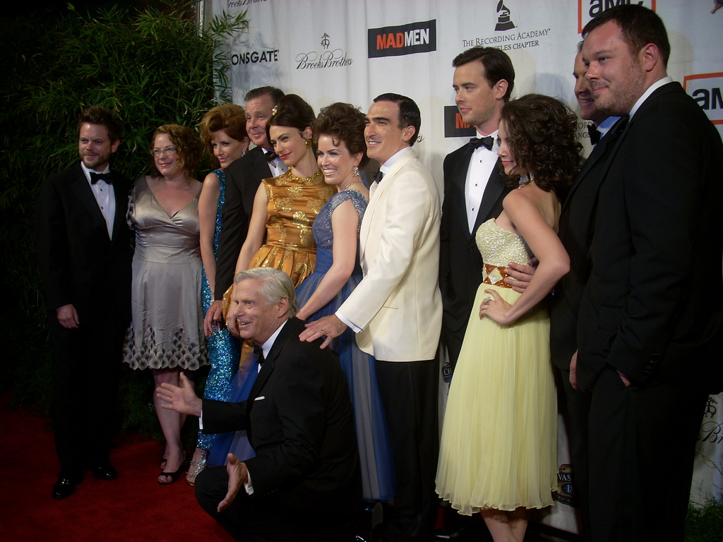 Mad Men Cast feiert im El Rey Theatre in LA. CC by 2.0 von WatchwithKristin auf flickr