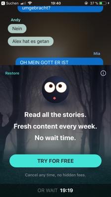 Chat-Fiction, so lesen wir heute? | Dorothea Martin